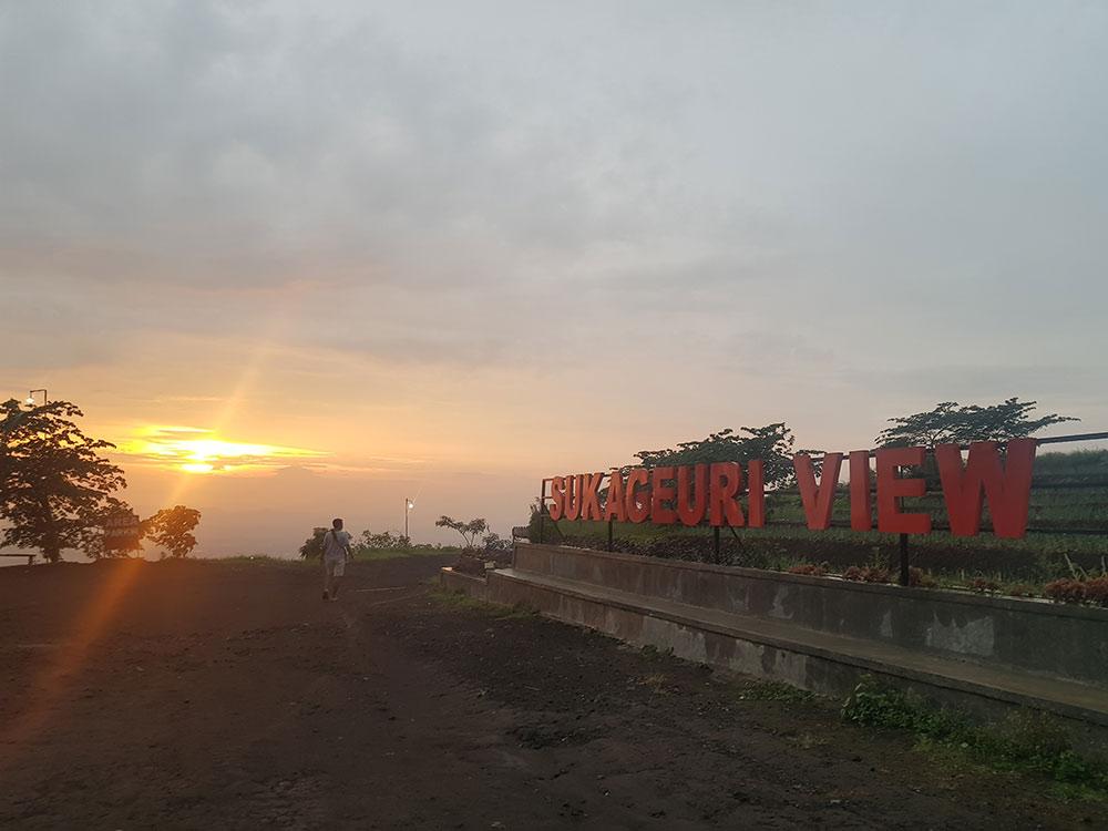Lokasi Sukageuri View