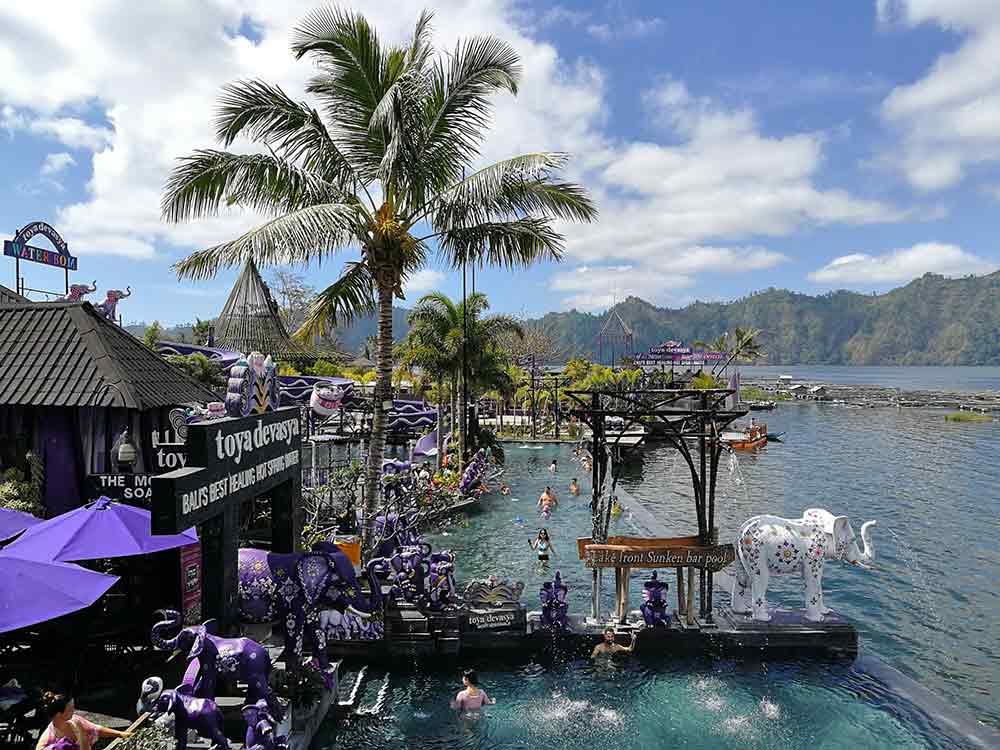Rute perjalanan ke Toya Devasya Bali