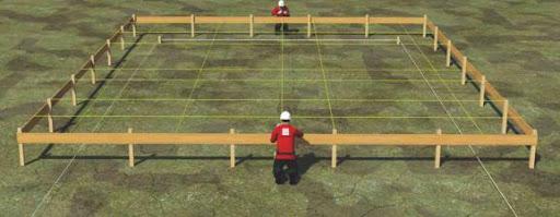 Pemasangan bouwplank