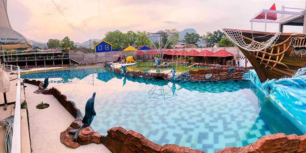Wahana di Victory Waterpark Soreang