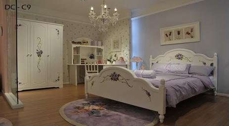 desain kamar tidur wanita