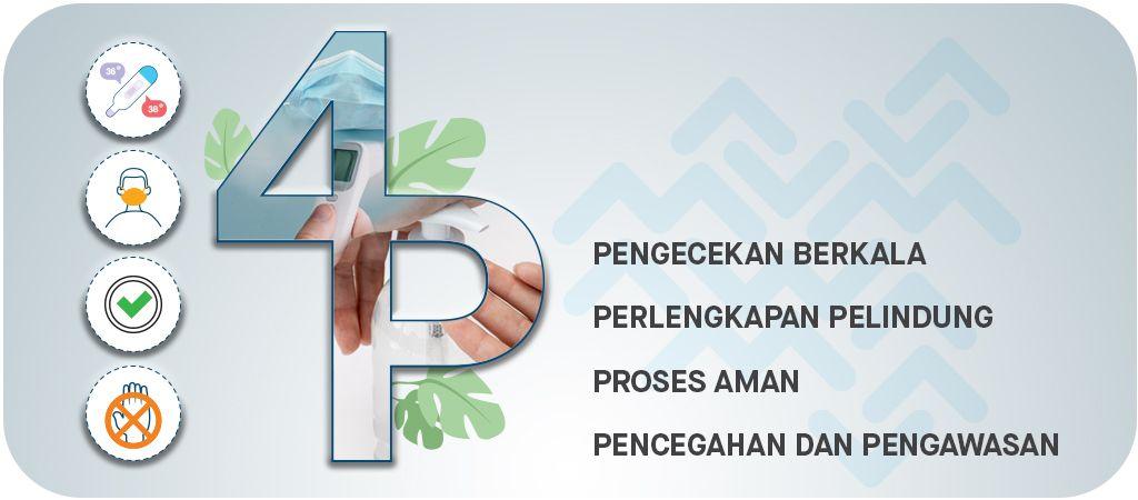 Layanan Pinservice disertai protokol kesehatan 4P