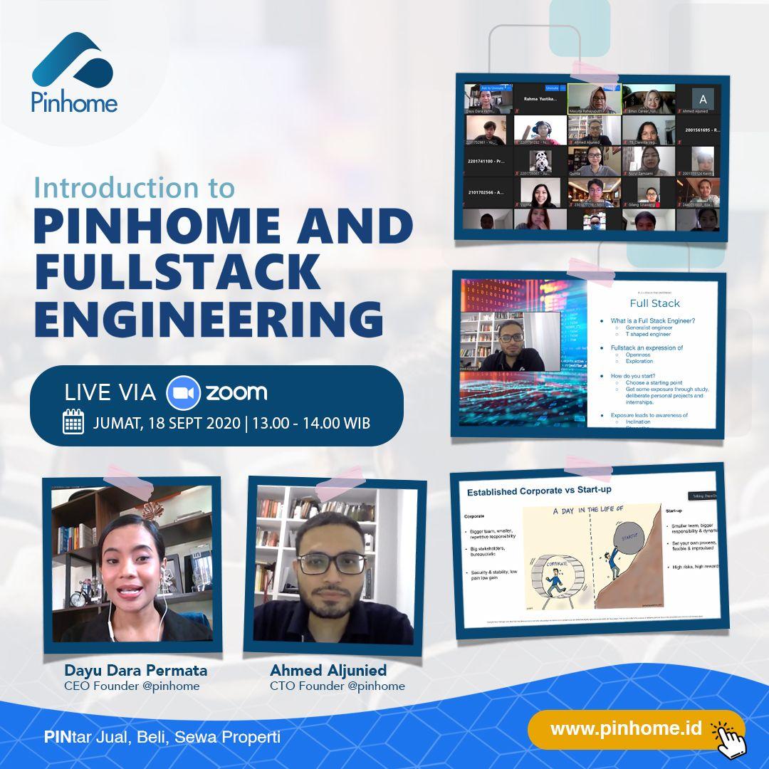 Webinar Binus x Pinhome: Introduction to Pinhome & Fullstack Engineering