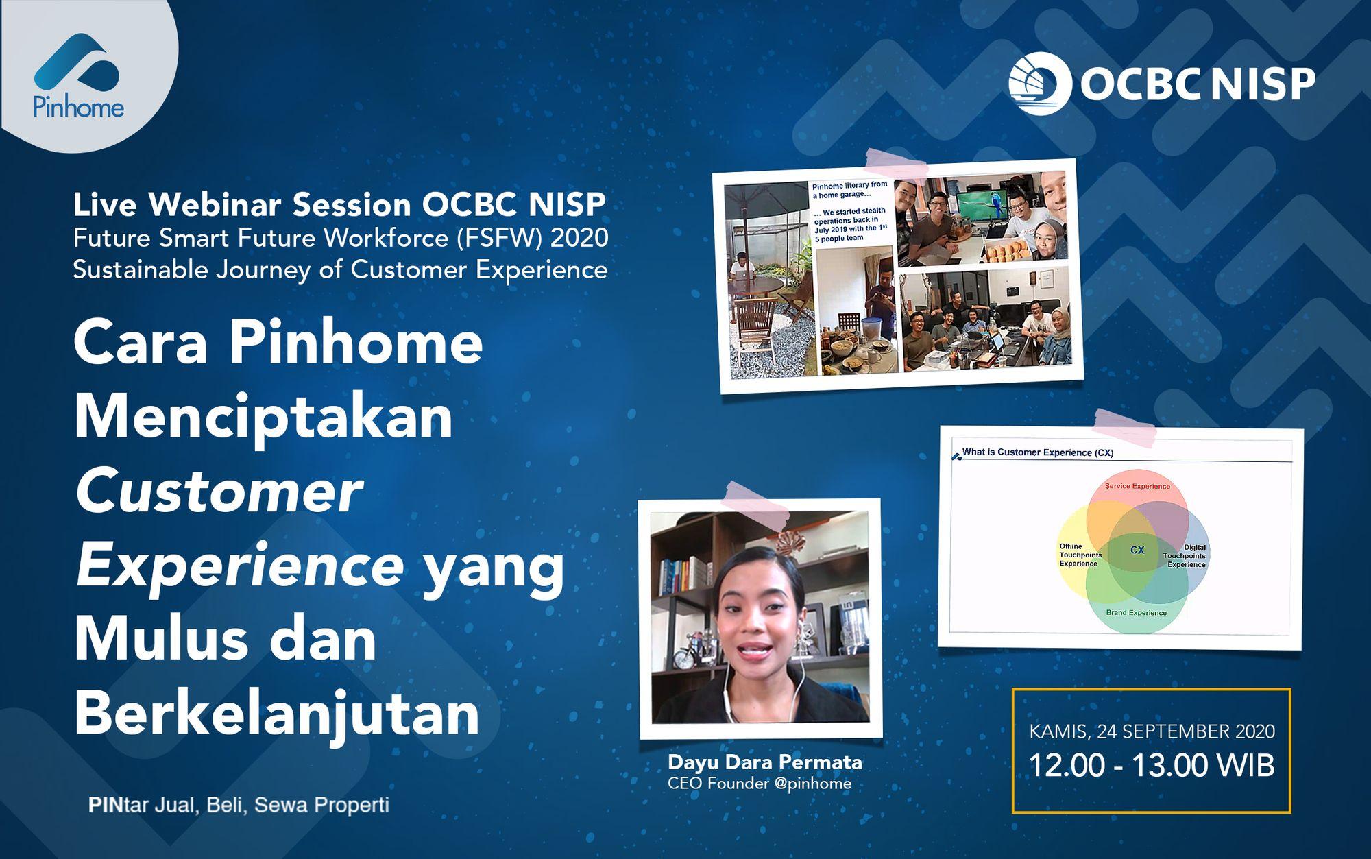 Pinhome di OCBC NISP Future Smart Future Workforce 2020