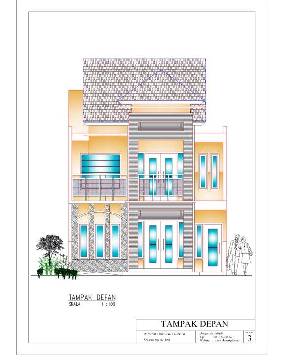 design rumah 2 lantai