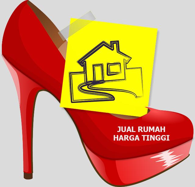 jual rumah harga tinggi