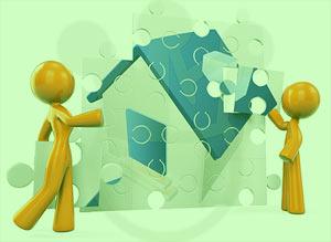 membangun rumah tinggal