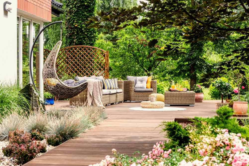 manfaat taman rumah