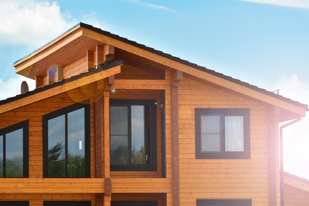 desain rumah kayu ramah lingkungan