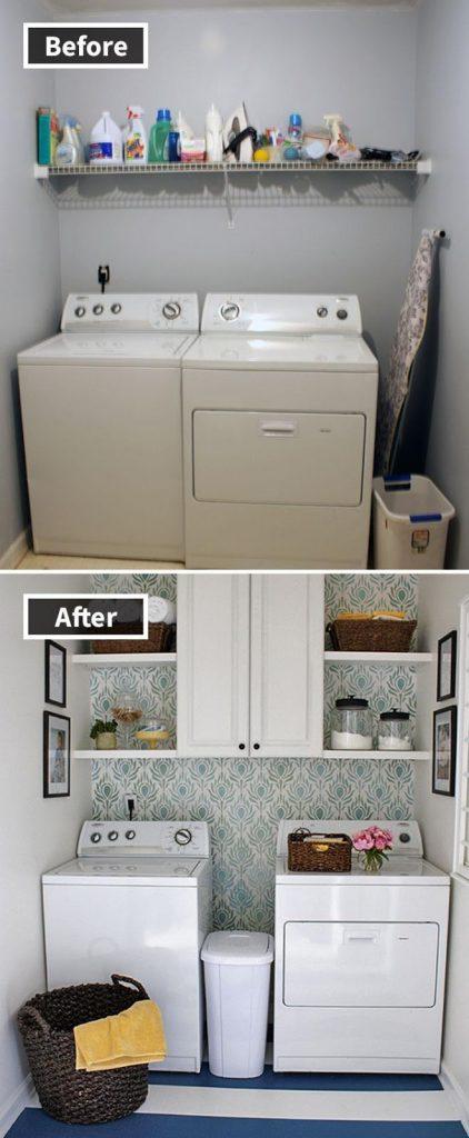 Gambar sebelum dan sesudah renovasi