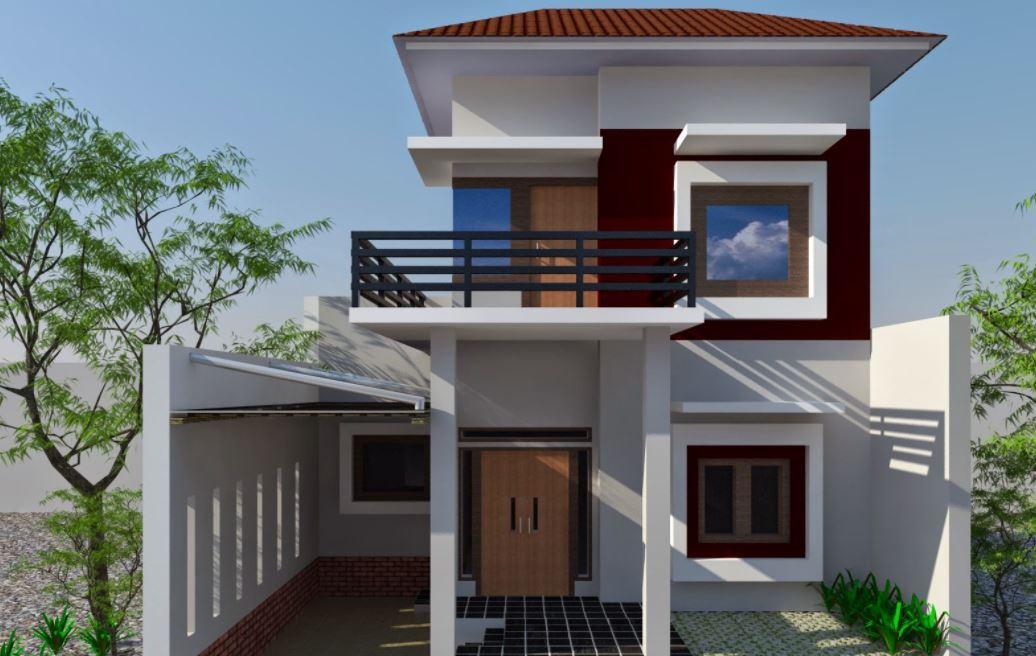 10 Desain Rumah Minimalis Modern 2 Lantai Hunian Keluarga Pinhome