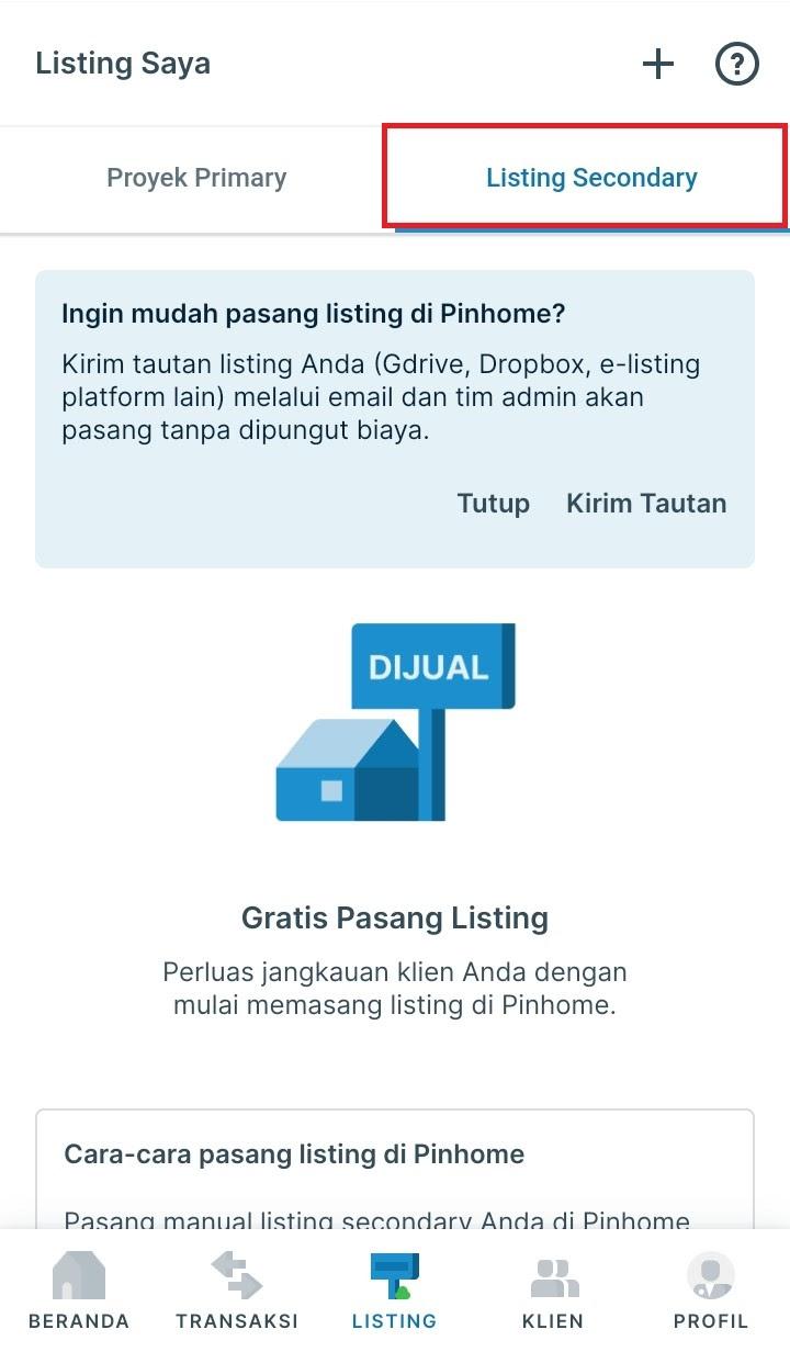 titip listing