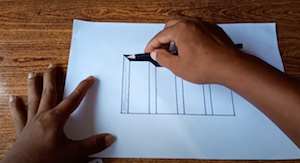 bagaimanakah teknik dasar menggambar benda tiga dimensi