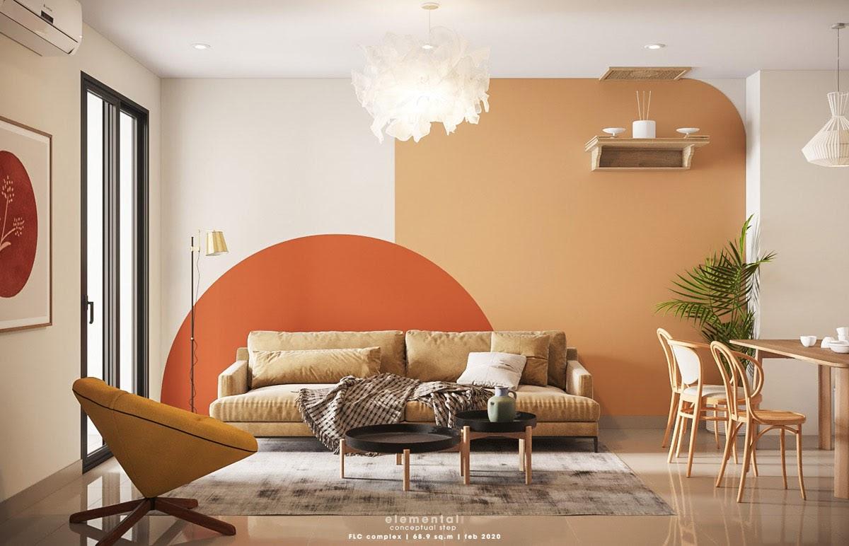 warna orange