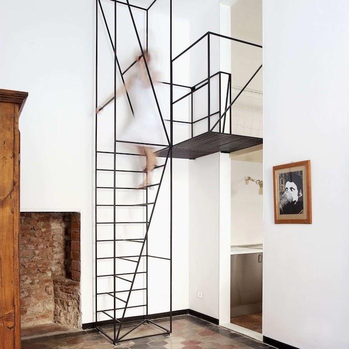 tangga besi minimalis