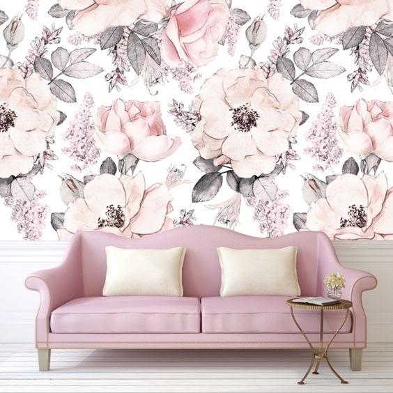 motif bunga simple