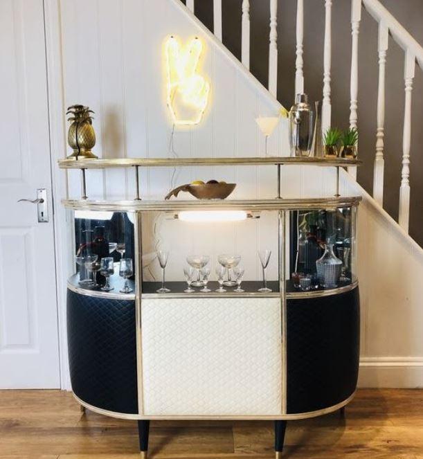 mini bar minimalis