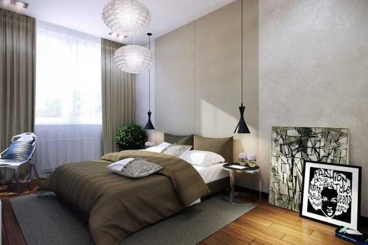 dekorasi kamar tidur sempit