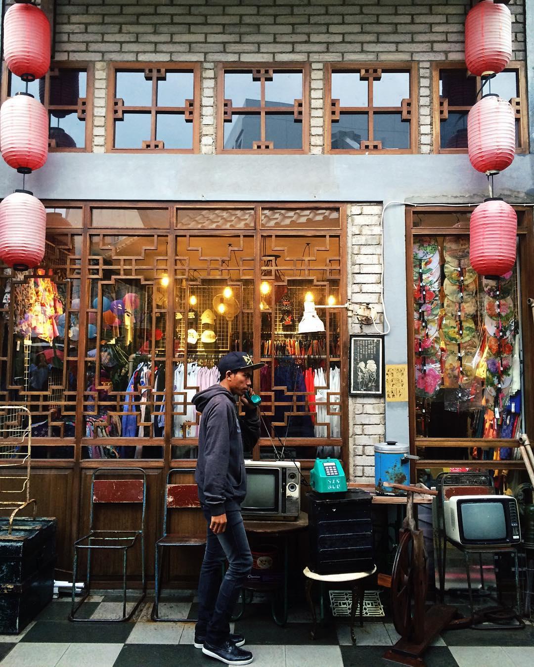 spot foto di chinatown bandung