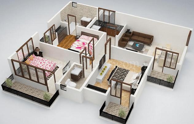 gambar rumah minimalis 3 kamar