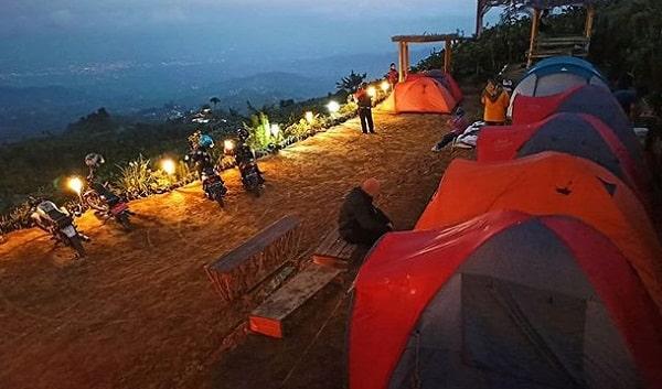 camping di mangli sky view magelang