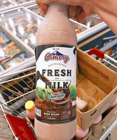 dairy shop cimory dairyland prigen pasuruan