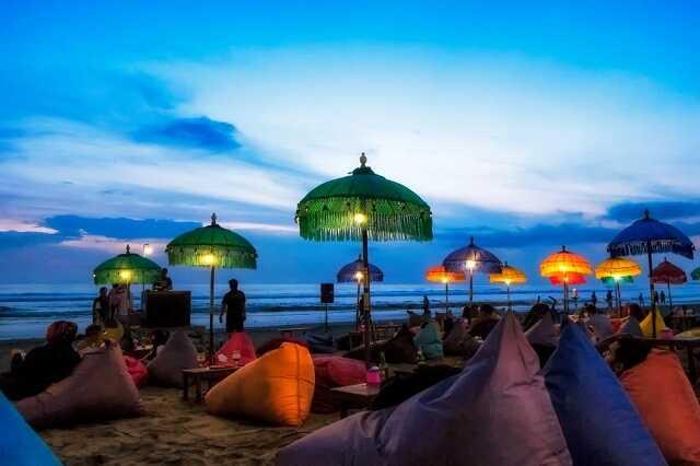 fasilitas pantai double six bali