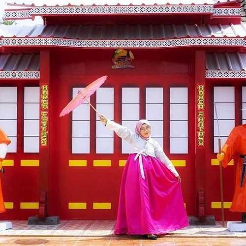 hanbok kampung korea kediri
