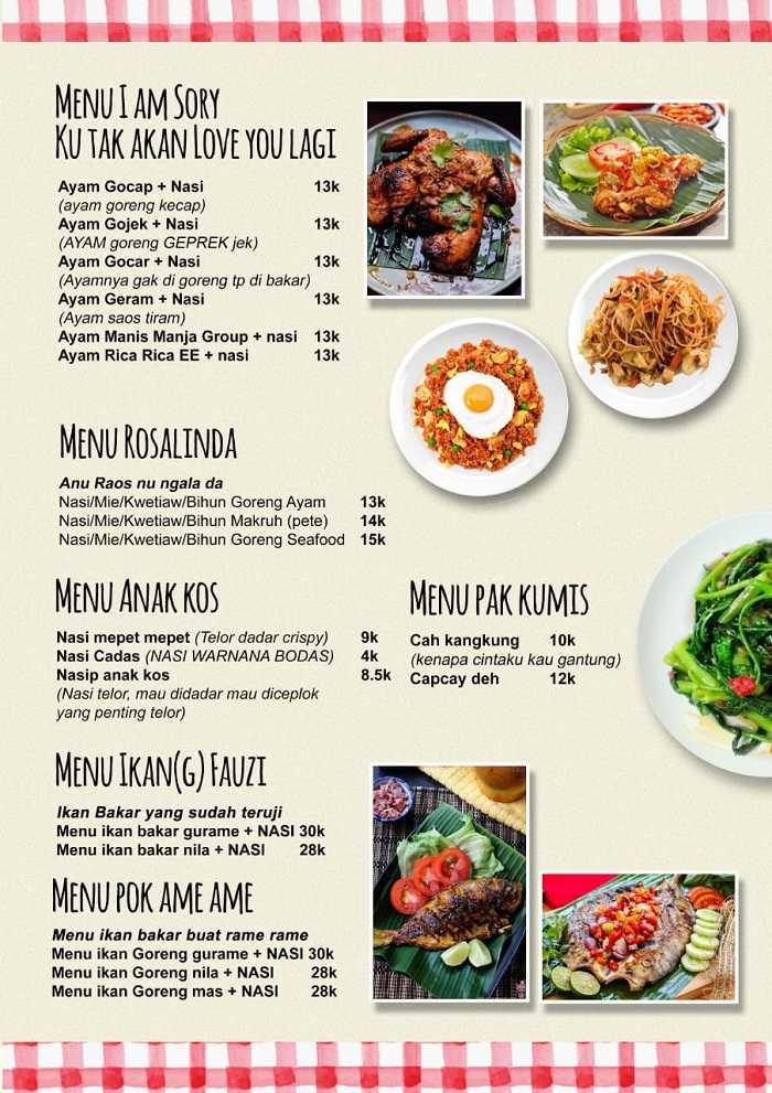 harga menu makanan di warung tepi danau 2