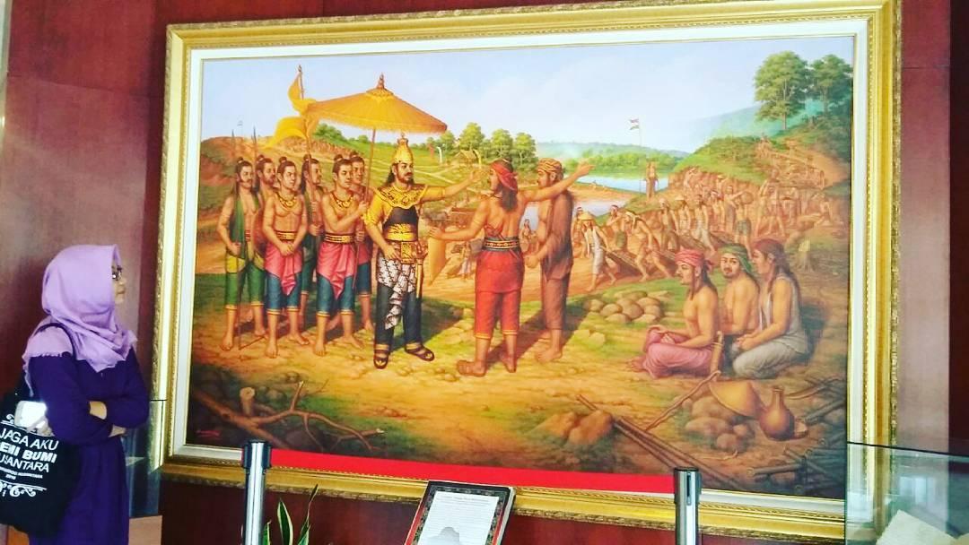 karya seni lukisan di museum sri baduga bandung