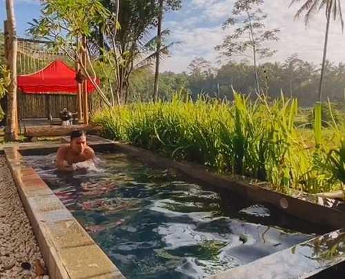 kolam renang nira camper village sleman yogyakarta