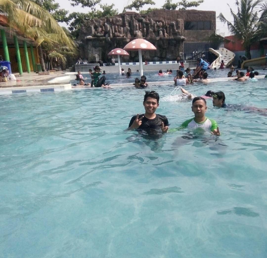 kolam renang penguin cikarang