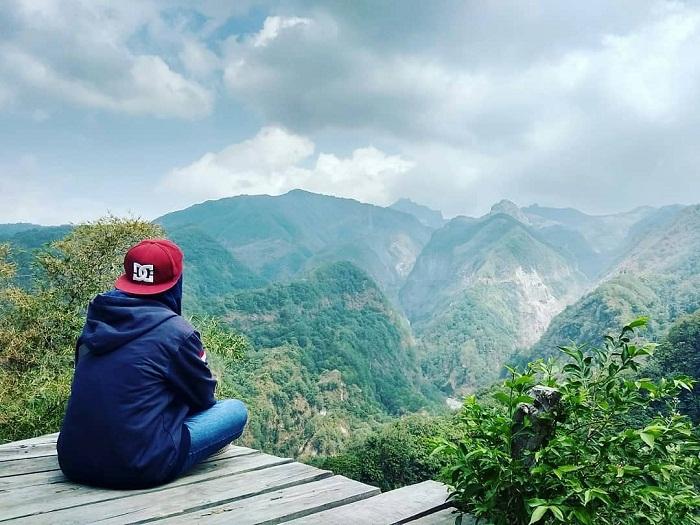 menikmati panorama alam bukit ongokan kediri