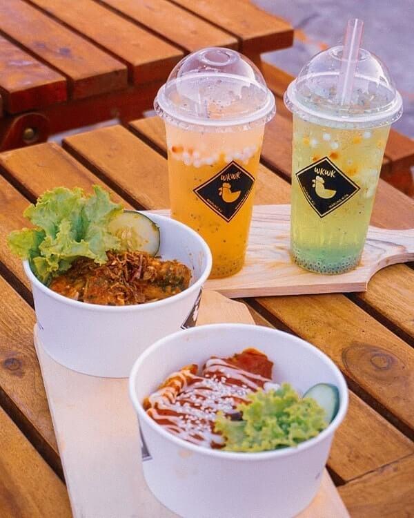 menu makanan di seven sky jogja