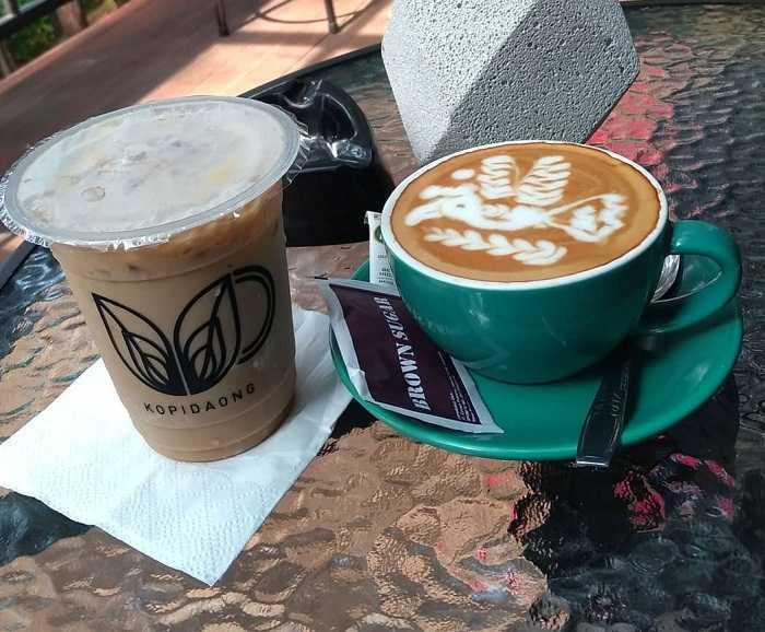 menu spesial kopi daong