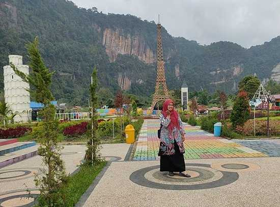 panorama kampung eropa lembah harau sumatera barat