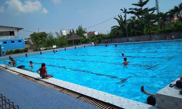 panorama kolam renang selayang medan
