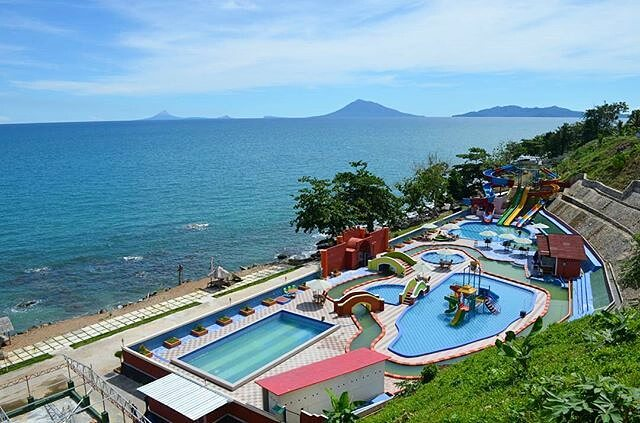 panorama krakatau kahai beach resort