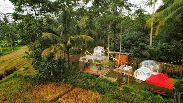 panorama nira camper village sleman yogyakarta