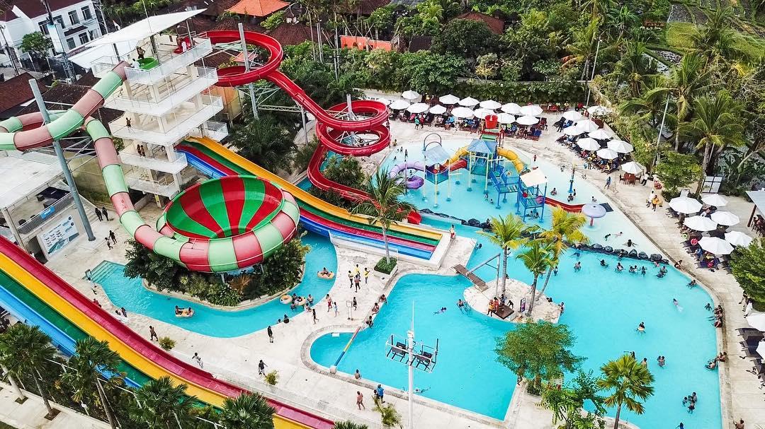 panorama splash waterpark bali