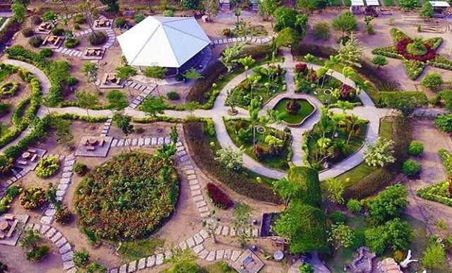 panorama wisata taman cengkok asri nganjuk