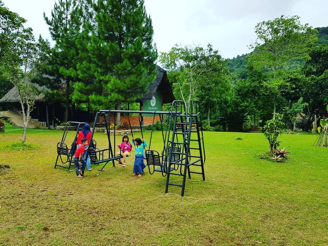 playground di kampung budaya sunda paseban