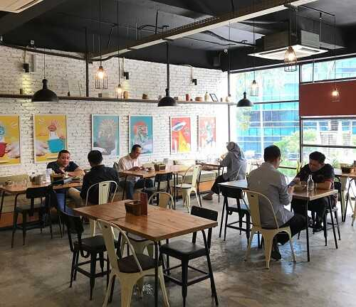 routine coffee and eatery