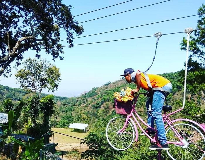 skybike di duyung trawas hill
