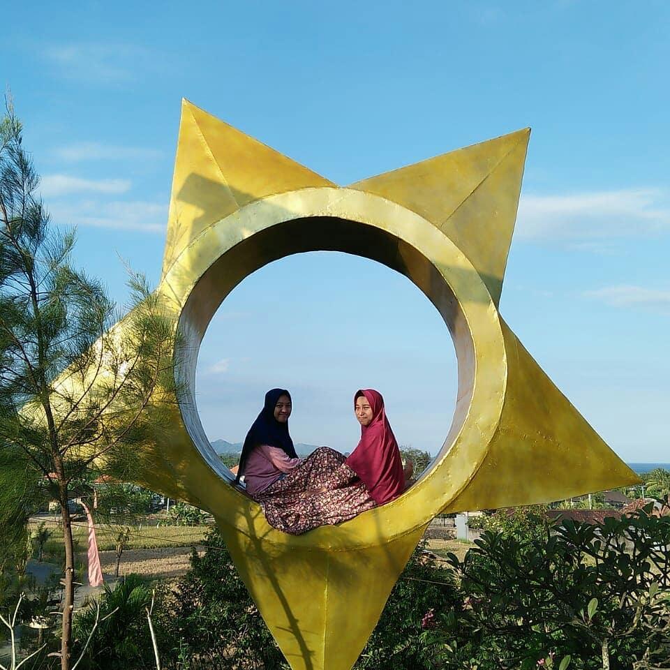 spot foto bintang di rangkung hill gianyar bali