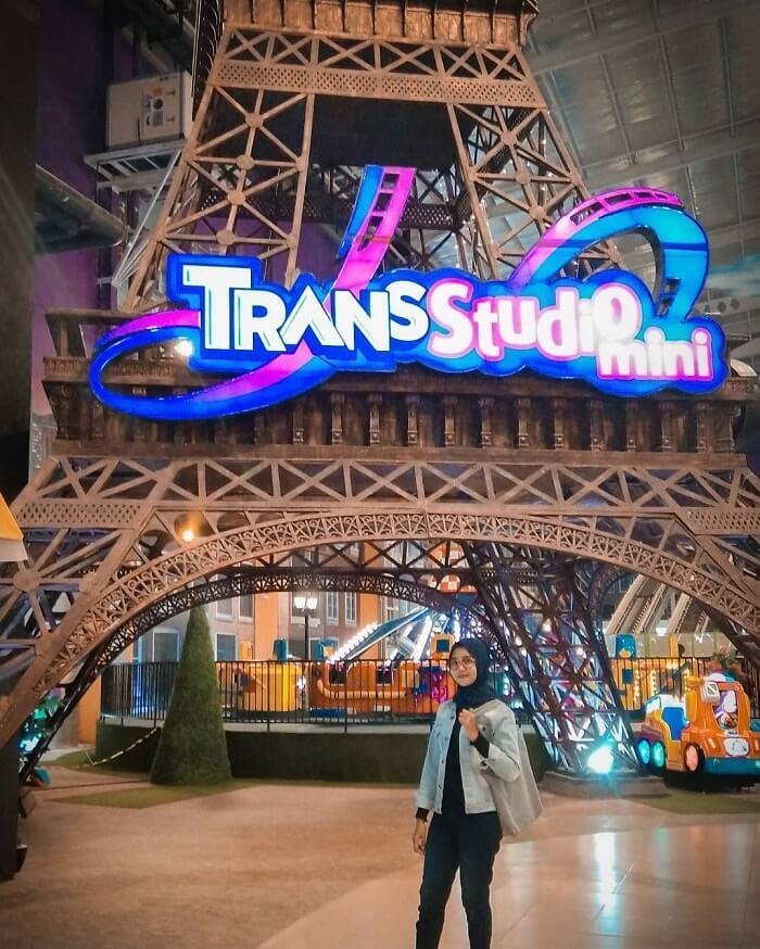 spot foto ikonik di trans studio mini malang