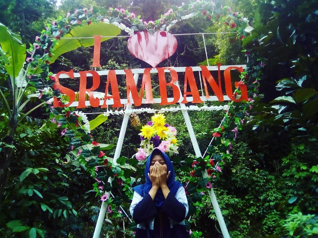 spot foto keren di srambang park