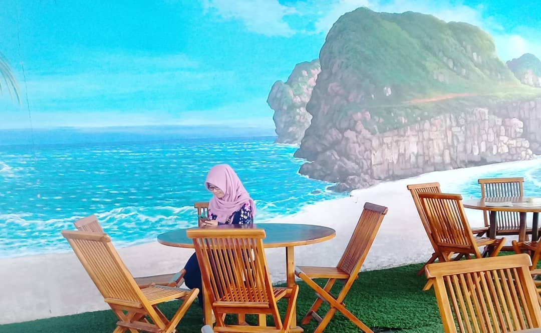 spot foto lukisan 3 dimensi di cikao park purwakarta