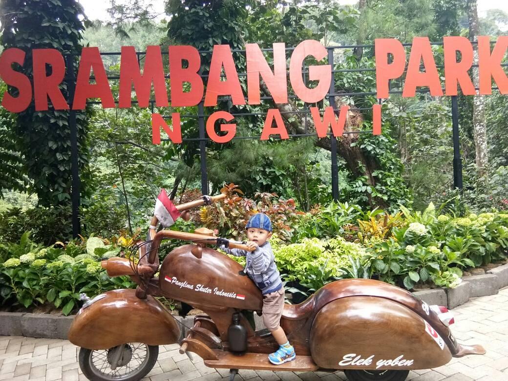 spot foto sign board di srambang park