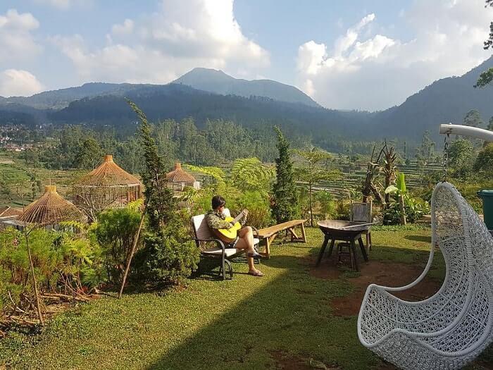 suasana nyaman di bubu jungle resort